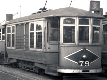 Perth Tram 79 Car Barn