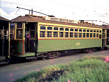 Perth Tram 67 Car Barn