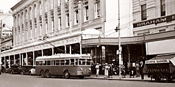 Perth Trolleybus 2