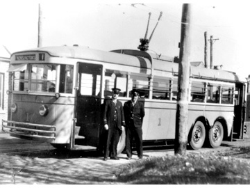 Perth Trolleybus 1 Kensington St